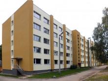 Smiltenes Profesionālās vidusskolas dienesta viesnīcas renovācija atbilstoši augstām energoefektivitātes prasībām izmantojot videi draudzīgus būvniecības materiālus un izstrādājumus Dārza iela 9, Smiltene
